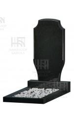 Фигурный памятник FZ-61, черный гранит, 3 размера
