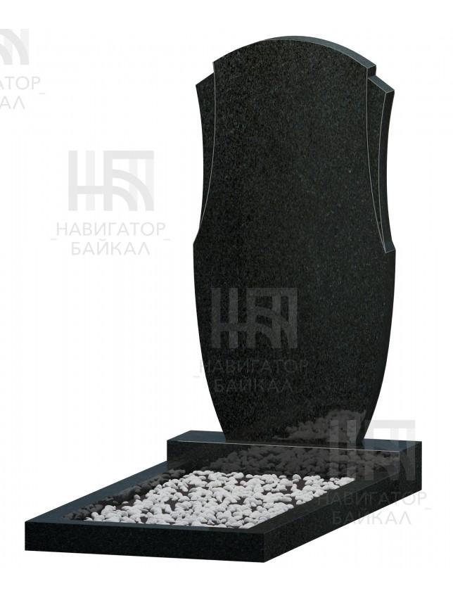 Фигурный памятник FZ-67, черный гранит, 3 размера