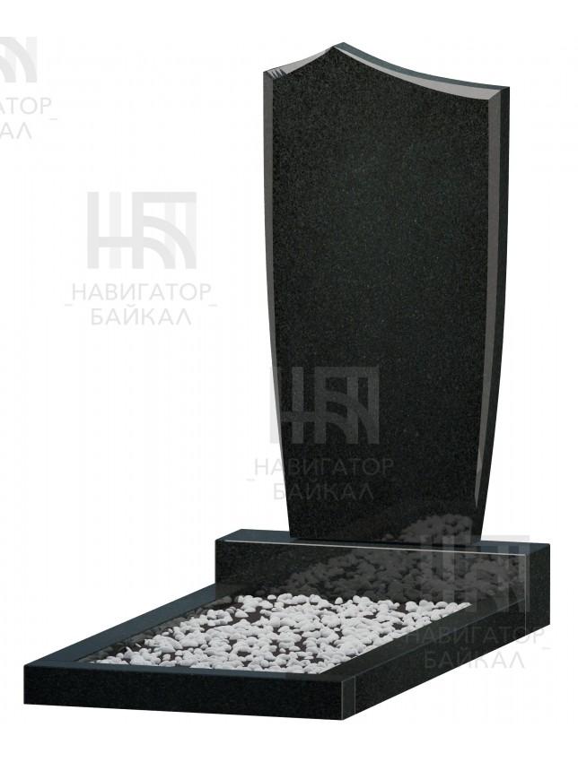 Фигурный памятник FZ-68, черный гранит, 3 размера