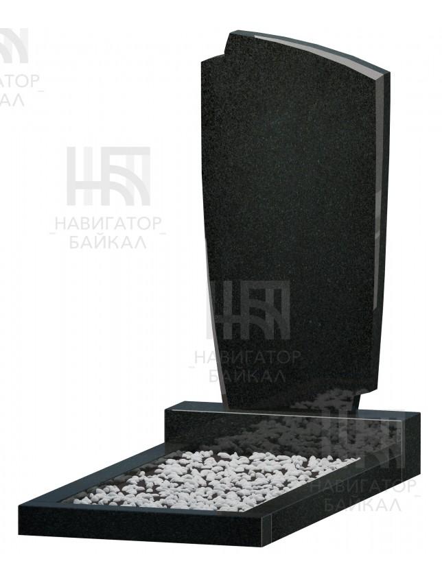 Фигурный памятник FZ-70, черный гранит, 3 размера