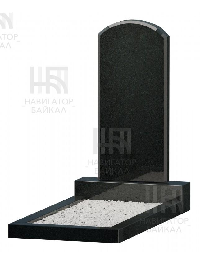 Фигурный памятник JD-3, черный гранит, 3 размера