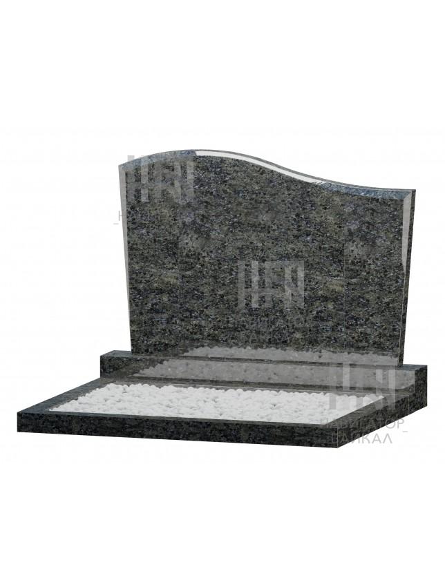 Семейный памятник WB-104, синий гранит