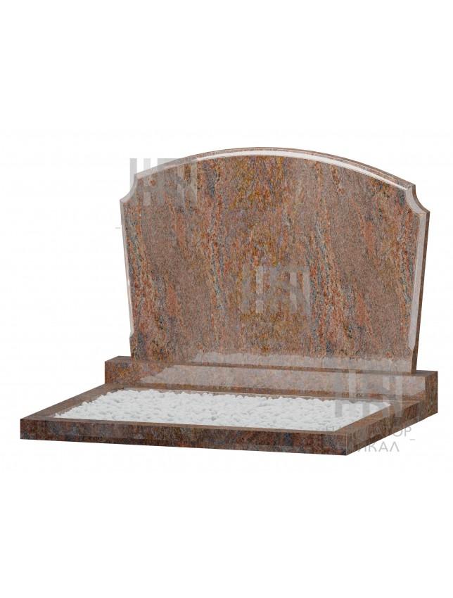 Семейный памятник WB-106, красный гранит