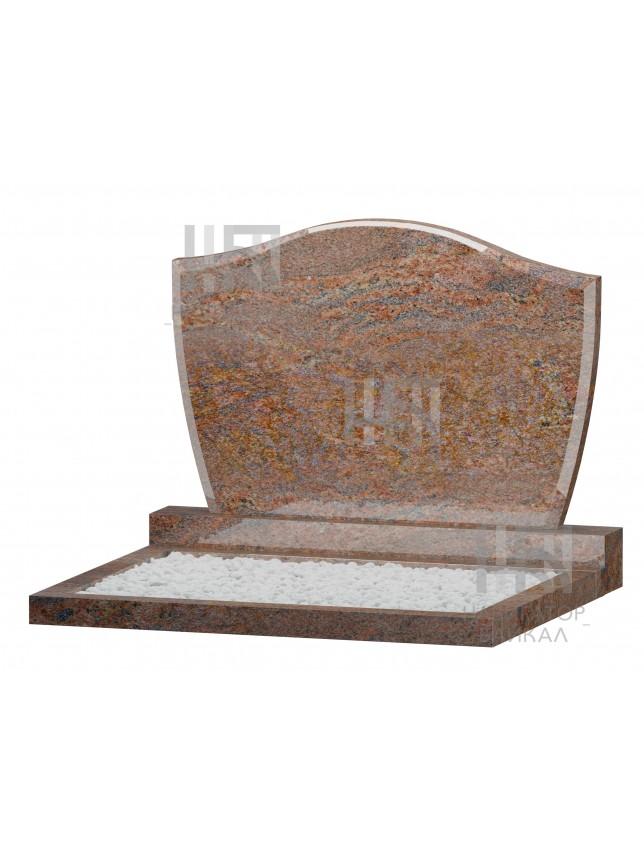 Семейный памятник WB-110, красный гранит