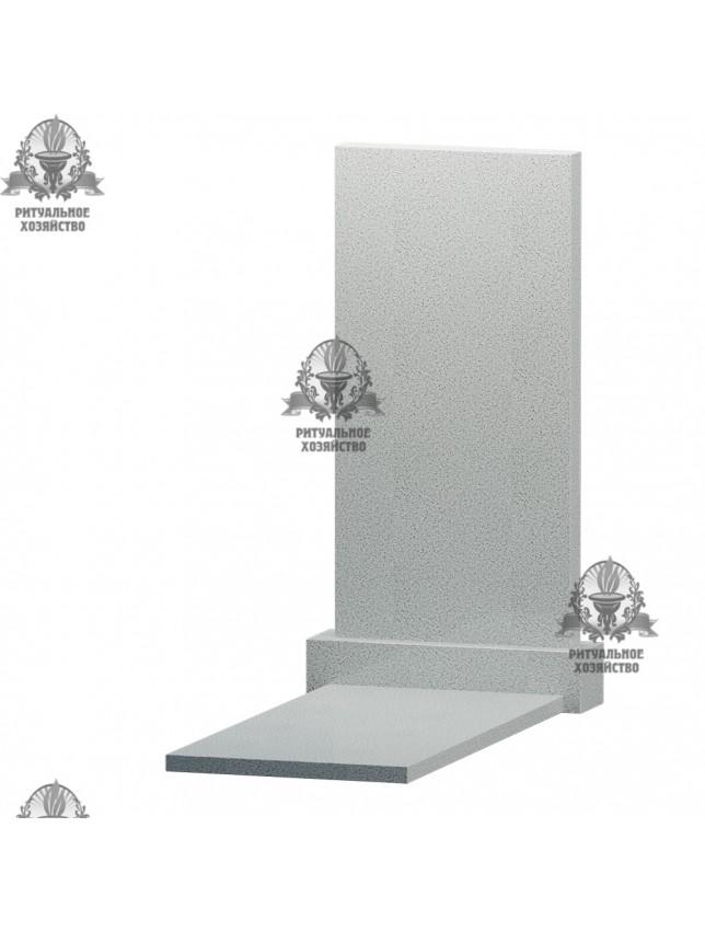 Мансуровский гранит с надгробной плитой, 2 размера
