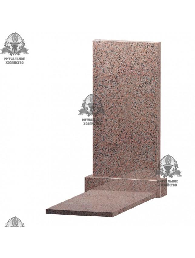 Ушканский гранит с надгробной плитой, 2 размера