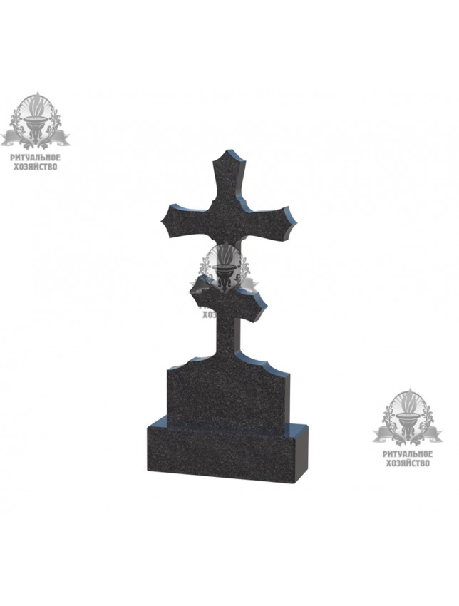 Крест гранитный №5.02