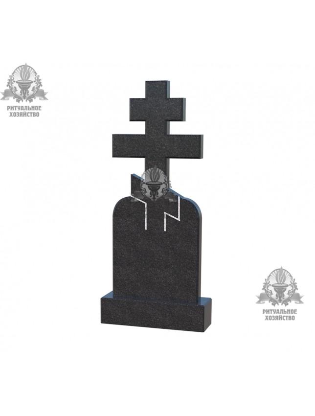 Крест гранитный №5.03