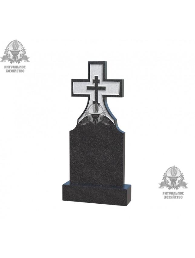 Крест гранитный №5.07
