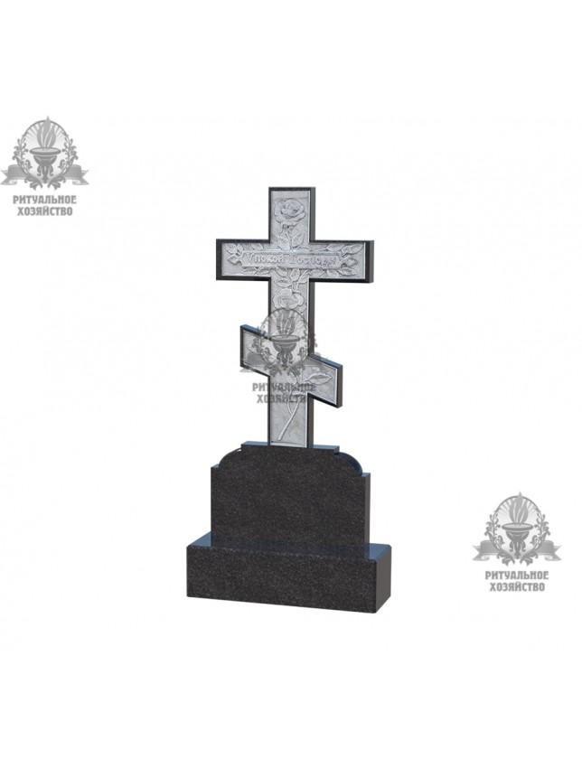 Крест гранитный №5.08