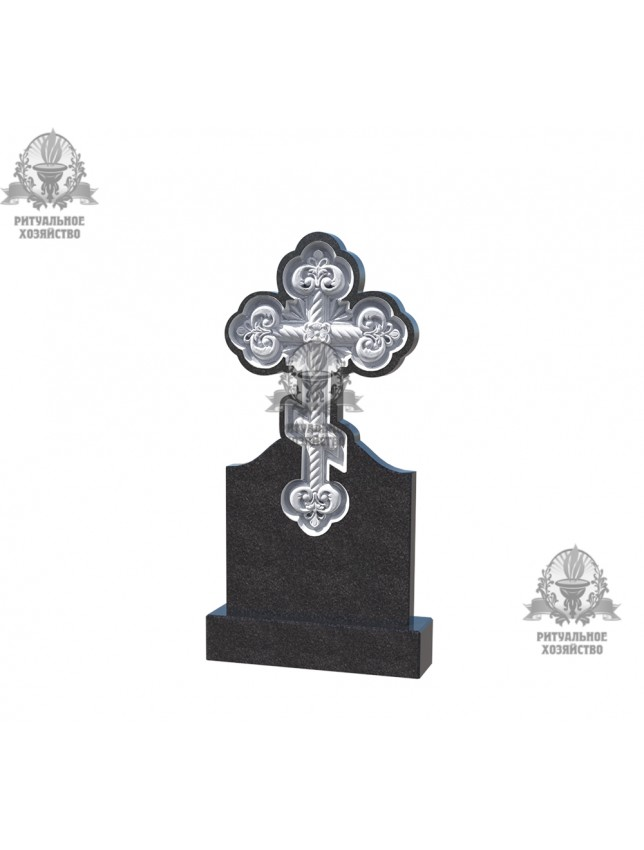 Крест гранитный №5.09