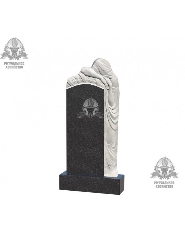 Фрезеровка на памятнике «Скорбящие, тип 1»