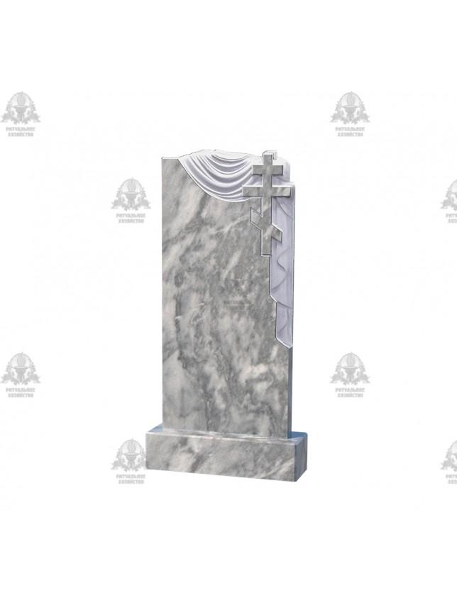Памятник вертикальный мраморный №1.09