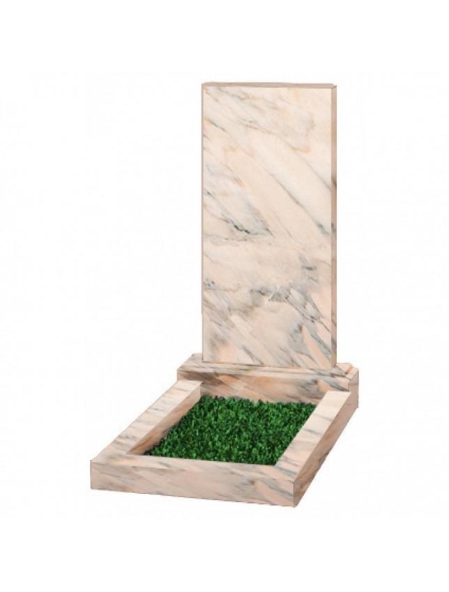 Саяногорский мрамор, прямоугольный, 15 размеров
