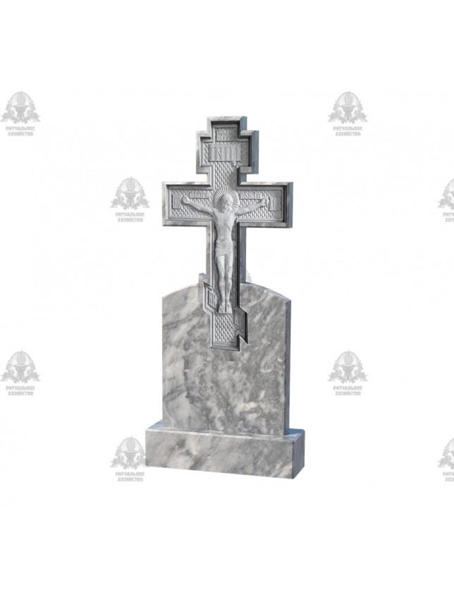 Крест мраморный №5.10