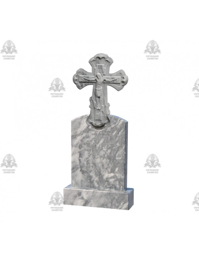 Крест мраморный №5.11