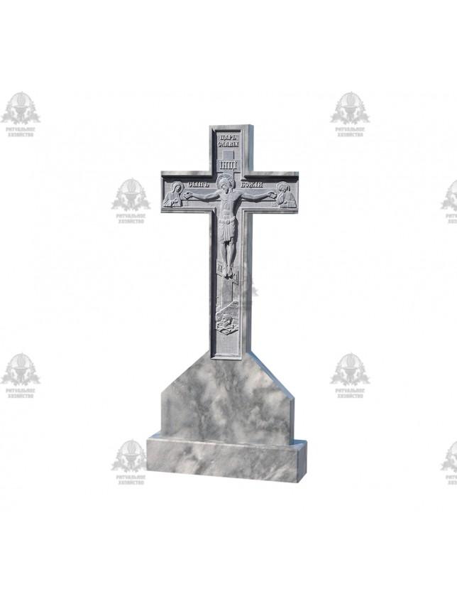Крест мраморный №5.12