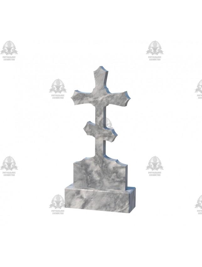 Крест мраморный №5.02
