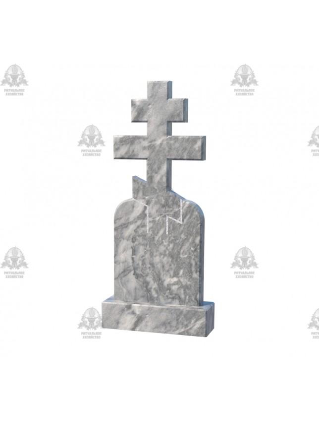 Крест мраморный №5.03