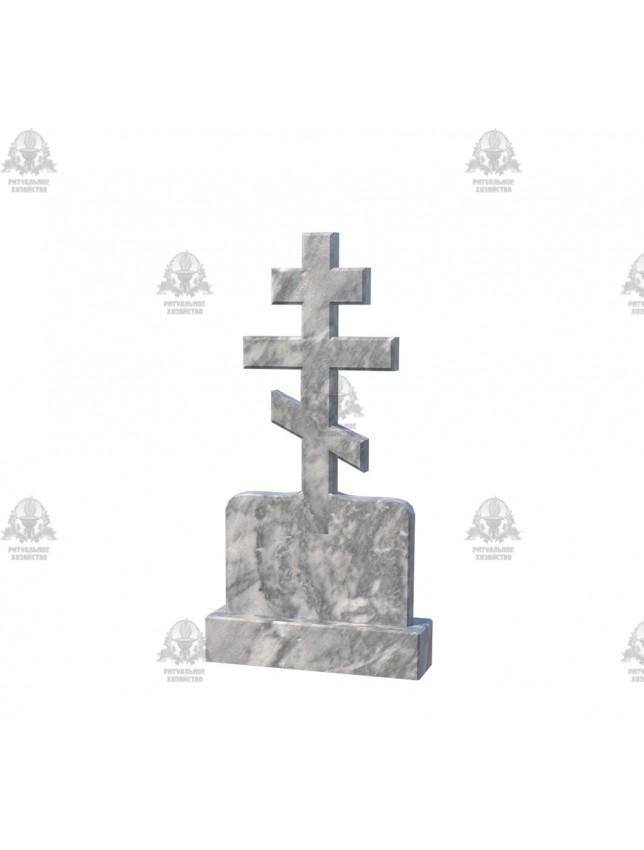 Крест мраморный №5.04
