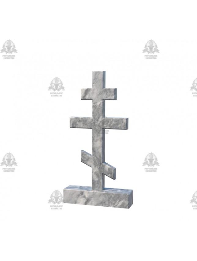 Крест мраморный №5.05