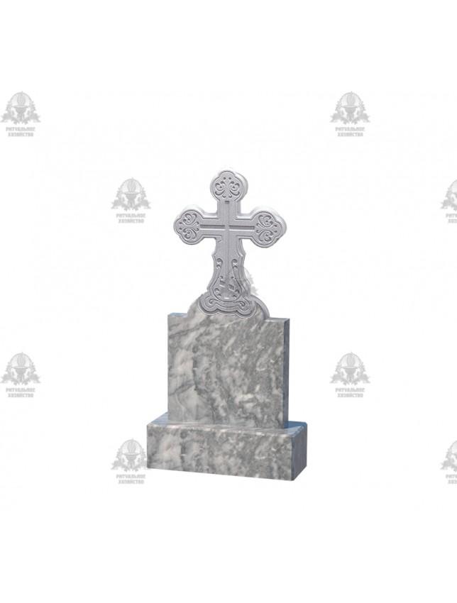 Крест мраморный №5.06