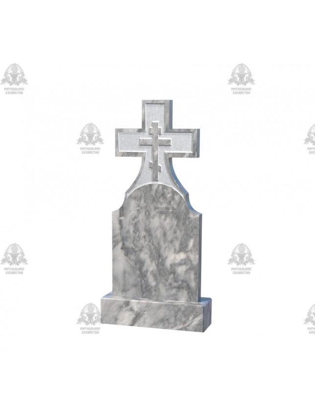 Крест мраморный №5.07