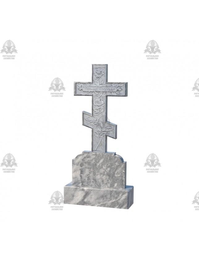 Крест мраморный №5.08