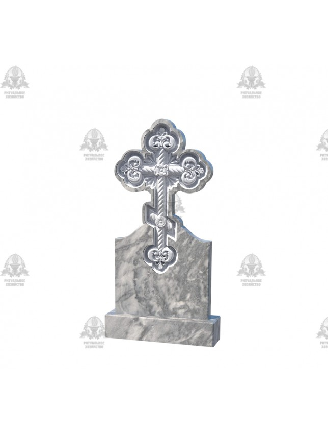 Крест мраморный №5.09
