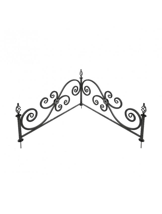Уголок из декоративной трубы (Т3)