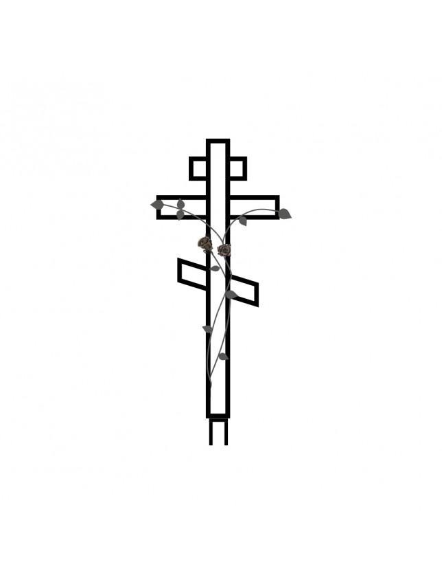Крест на могилу К-10