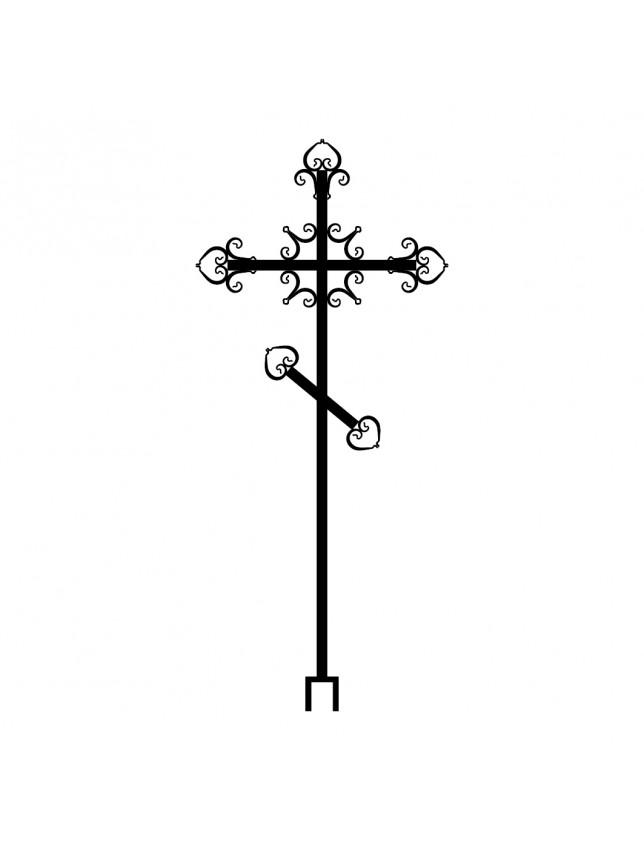 Крест на могилу К-14