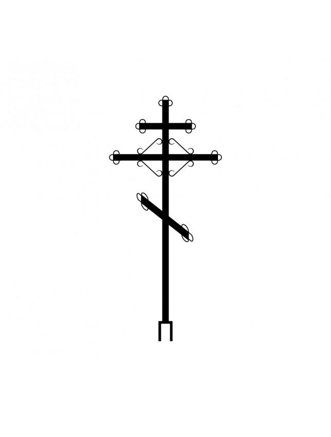 Крест на могилу К-03