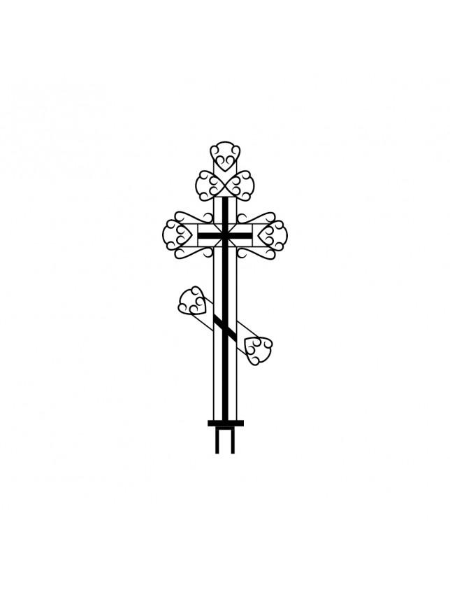 Крест на могилу К-09