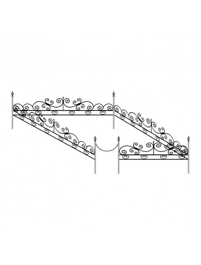 Ограда декоративная (тип 1)