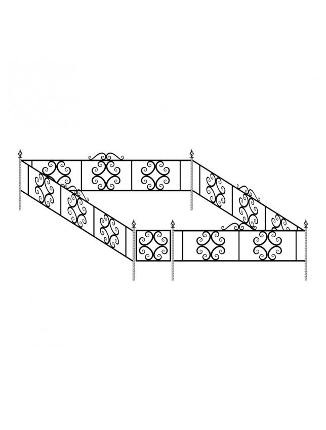 Ограда декоративная (тип 2)